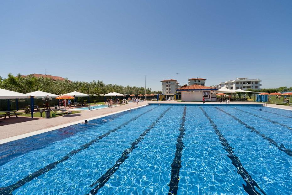 Panoramica piscina